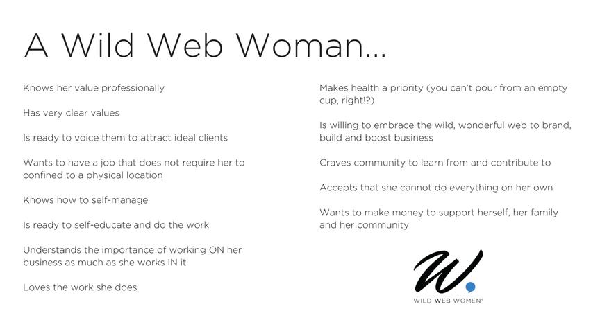 A Wild Web Woman