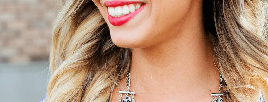 Simple Success Step: SMILE!