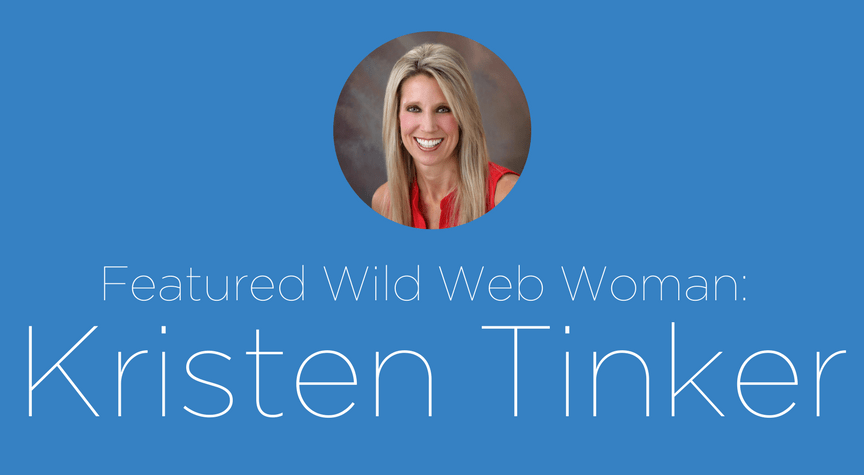 Featured Wild Web Woman: Kristen Tinker