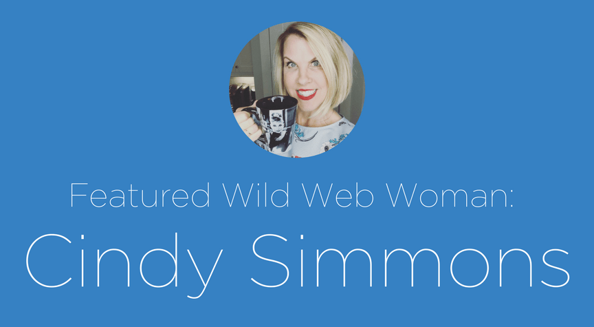 Featured Wild Web Woman: Cindy Simmons