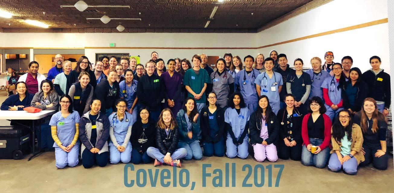 Covelo Clinic Volunteers