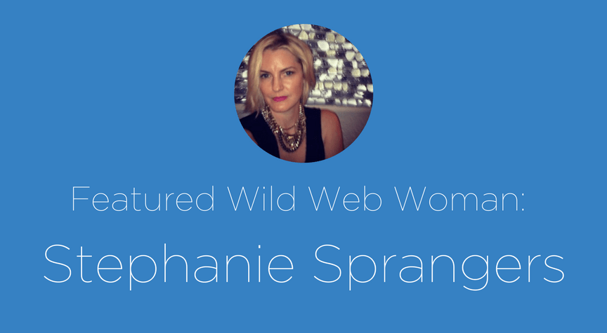 Featured Wild Web Woman: Stephanie Sprangers