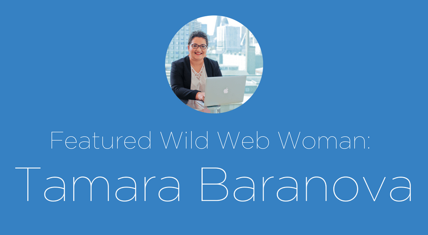 Featured Wild Web Woman: Tamara Baranova