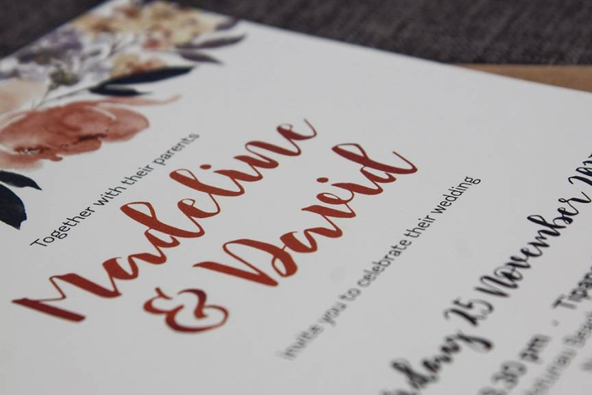 Interview with Wedding Stationary Designer, Amanda Cookson