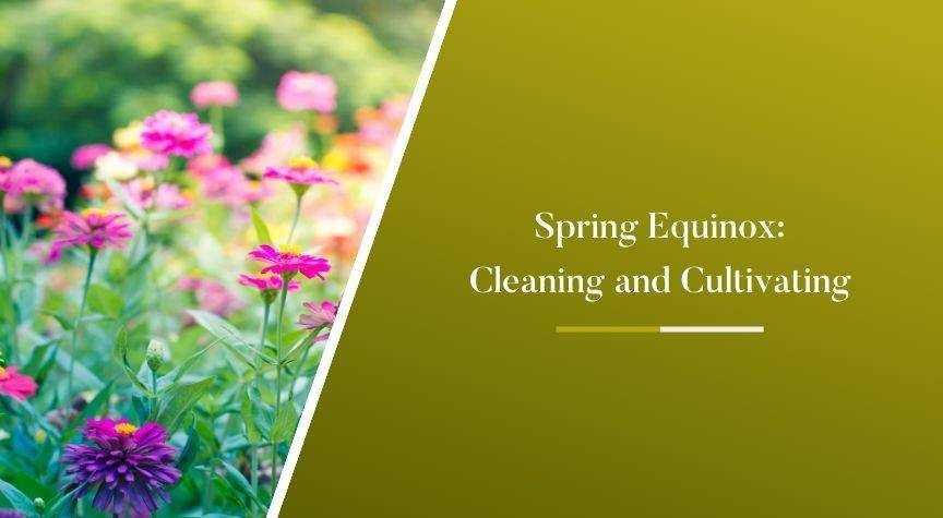 The Spring Equinox – Ignite Cleaning and Cultivating