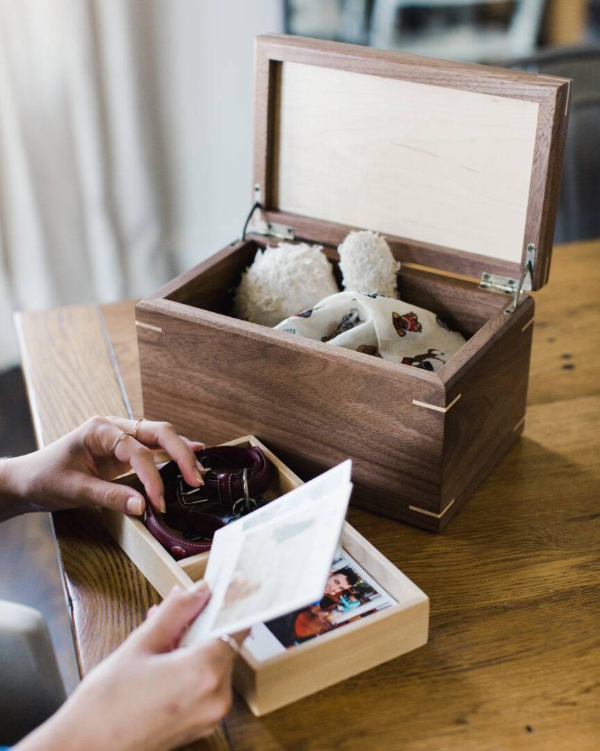 Mad Tree Woodcrafts Keepsake Boxes